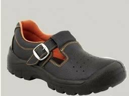 Рабочие сандали защитные натуральная кожа