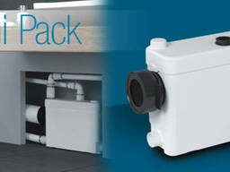 SaniPack насос - установка для оборудования туалетной комнат