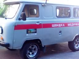 Санитарный автомобиль УАЗ