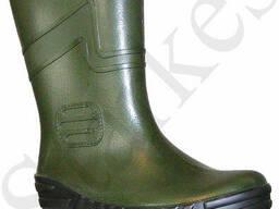 Сапоги резиновые зеленые мужские из ПВХ, 39 - 47 р, на выбор