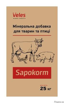 Сапокорм - мінеральна добавка для відгодівлі бройлерів