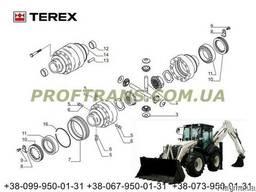 Сателиты TEREX 970 терекс дифференциал