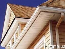 Сайдинг, софит, фасадные панели, фасад, подшива