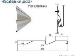 Сайдинг металлический «Корабельная доска» - photo 2
