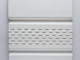 Сайдинг Софит (панель потолочная) виниловый, цвет белый