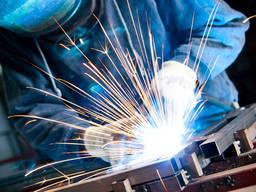 Сборка металлоконструкций, сварка черной и нержавеющей стали