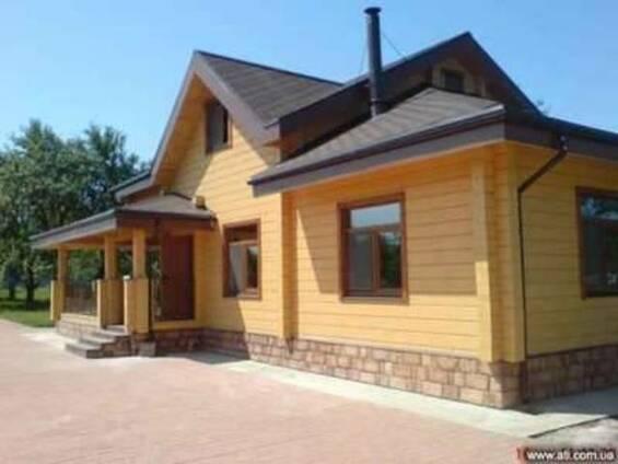 Сборные дома из бруса Украина
