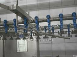 Сбрасыватель тушек с линии воздушного охлаждения Тип WTO