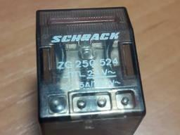 Реле Schrack zg 250 524 24vac