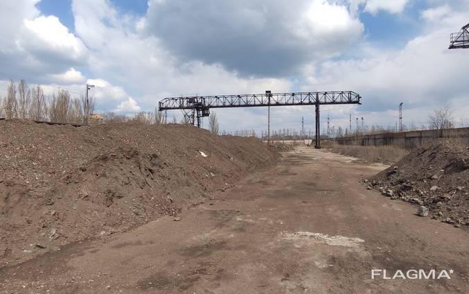 Сдается часть территории с ж\д веткой возле Сурикового завода.