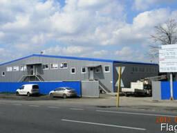 Сдам новый склад 2 660 м2, фасад Е-40 Киев-ЧОП, Калиновка