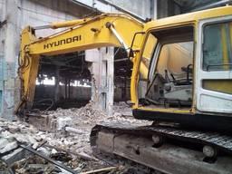 Сдаю в аренду экскаваторы свои Hyundai 320 по всей Украине