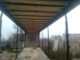 Сдвижная крыша на полуприцеп