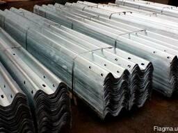 Секции балок СБ-1 размером 312х83х4.0х4320мм
