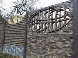 """Секционный наборной забор с рисунком """"Крымский камень"""" - фото 5"""