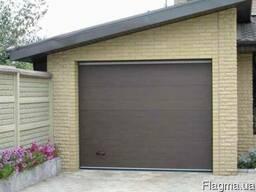 Секционные гаражные ворота. Вертикальные ворота