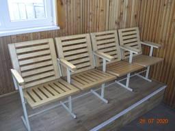 Секционные стулья