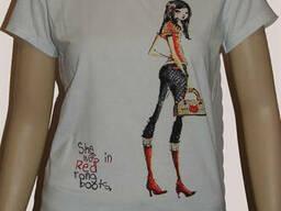 Секонд хенд. Женская футболка А-класс. Новая. - фото 3