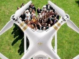 Съемка свадьбы с квадрокоптера (с воздуха) FULL HD