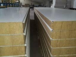 Сендвич панели усиленные для строительства.