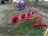 Сеноворошилка 5 колес - фото 5