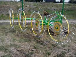 Грабли-ворошилка (валковые) «Солнышко» 4-х колесные фирмы Ag