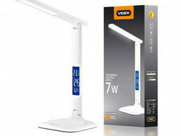 Сенсорная настольная LED лампа Videx 7W Белая
