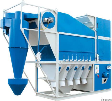 Сепаратор зерновой аэродинамический САД-100 с циклоном
