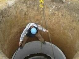 Септик, cливная яма, выгребная яма, канализации, жби кольца бетонные Харьков