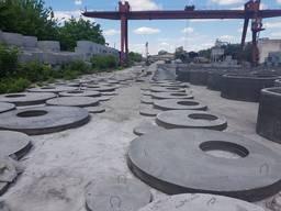 Бетонные кольца с доставкой по Киеву и области