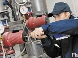Сервис, монтаж, наладка теплотехнического оборудования.