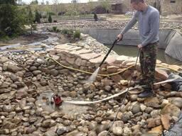 Сервисное обслуживание прудов, бассейнов