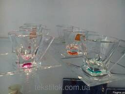 Сервиз кофейный стекло RCR