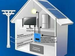 Сетевая система на Солнечных Батареях, 5кВт, 220В