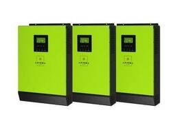 Сетевой солнечный инвертор с резервной функцией 12кВт. ..