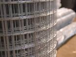 Сетка сварная оцинкованная от 1 метра толщина 5 мм - фото 2