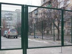 Сетка 3D Забор. Секционные ограждения из сетки. Установка.