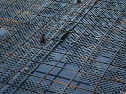 Сетка армирования покрытий паркингов, крыш зданий 100х100