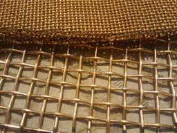 Сетка бронзовая тканая БрОФ яч. 0,063-0,04мм