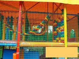 Сетка для детских игровых лабиринтов, батутов