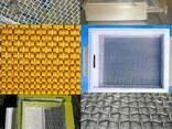 Сетка для пчеловодства нержавейка латунь 1мм-3мм вентиляция - фото 1