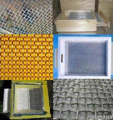 Сетка для пчеловодства нержавейка латунь 1мм-3мм вентиляция