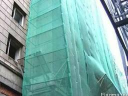 Сетка фасадная затеняющая