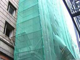 Сетка фасадная защитная, затеняющая