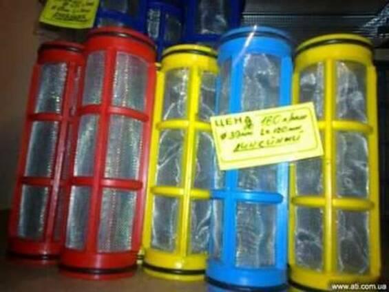 Сетка фильтра линейного до 160 л/мин