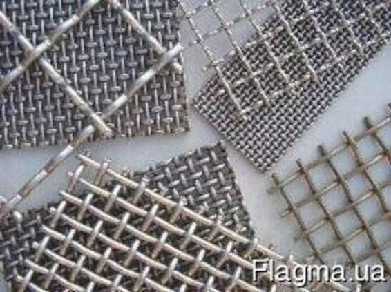 Сетка канилированная сложно рифленая 100x100*5карта 2*1,5
