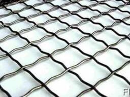 Сетка канилированная 25х25х3 стальная карты 1500х2000