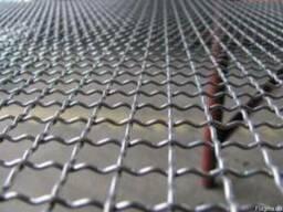 Сетка канилированная рифлённая Ячейка 3, 0 диаметр проволоки