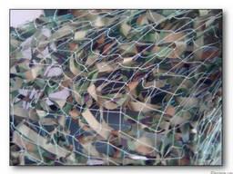 Сетка маскировочная 1200 кв. м полотно капроновое