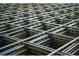 Сетка метал. 3мм (1х2) 100х100 армирован